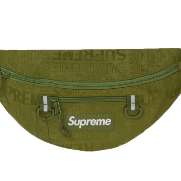 Supreme SS19 Utility Pouch box camp cap tee logo waist shoulder backpack Bag